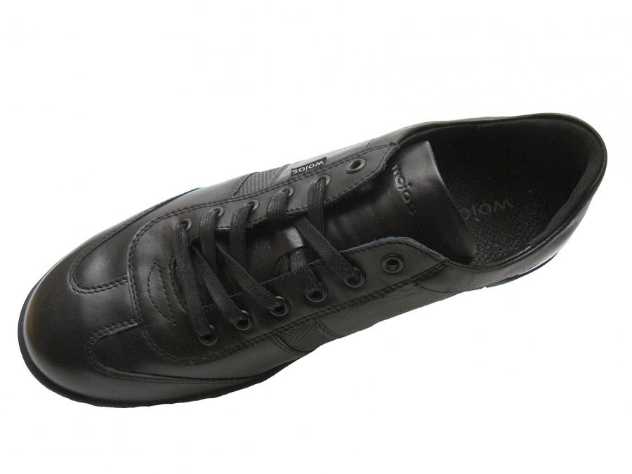 a4ff7695cfc3 ... a4baad0fff7f Wojas - Półbuty skórzane Wojas casual 6047-51 czarne ...
