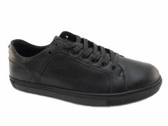Półbuty skórzane casual Wojas 6046-51 czarne