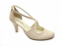 Tessa 405 buty ślubne ecru