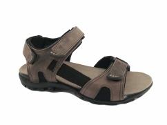 Sandały skórzane Wojas 5303-94 beżowe