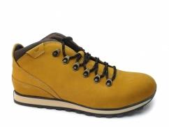 Trzewiki nieocieplane Wojas 8238-78 żółty + brąz