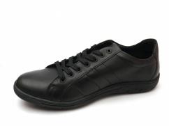 Półbuty skórzane casual Wojas 9080-51 czarne