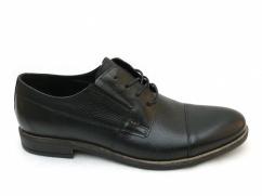Półbuty skórzane garniturowe Wojas 9070-51 czarne