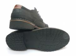 Półbuty skórzane Wojas 1220-99 czarne