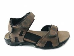Sandały skórzane Wojas 29006-94 beżowe