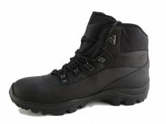 Trzewiki trekkingowe skórzane  Wojas 9378-91 czarne