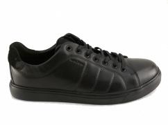 Półbuty skórzane comfort  Wojas 10046-51 czarne