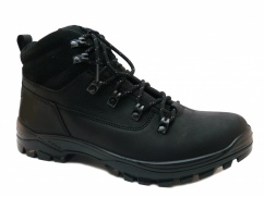 Trzewiki trekkingowe  Wojas 7225-91 czarne