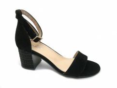 Wojas 8774-61 eleganckie sandały czarne