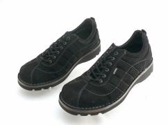 Wojas 7206-61 półbuty welur naturalny, czarne