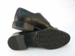 Półbuty garniturowe skórzane Wojas 9023-51 czarne
