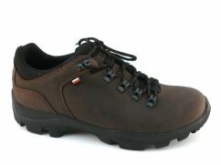 Półbuty trekkingowe Wojas 9377-92 brąz