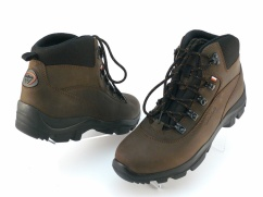 Trzewiki trekkingowe skórzane Wojas 9378-92 brąz