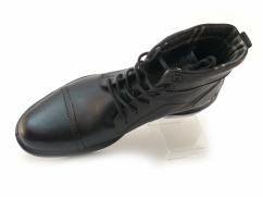 Wojas trzewiki eleganckie ocieplane 4297-51 czarne