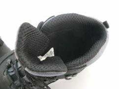 Trzewiki trekkingowe skórzane  Wojas 9600-91 czarne