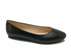 Balerinki skórzane Wojas 6420-51 czarne