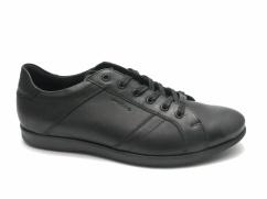 Półbuty skórzane casual Wojas 6037-51 czarne