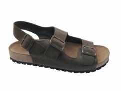 Sandały skórzane Wojas 6303-92 brąz